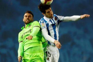 Borja Mayoral rescata un punto para el Levante en Anoeta