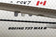 Un Boeing 737 MAX 8 de Air Canada, este viernes en Toronto.