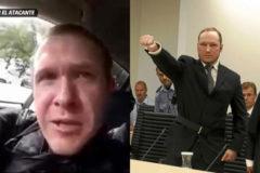 Brenton Tarrant (dcha), el tirador de Nueva Zelanda, y Anders Breivik izq), el asesino de Utoya.