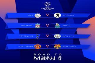 El Barça se medirá al Manchester United en cuartos