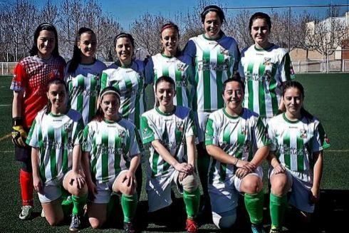 Equipo femenino del Club Atlético de Leones de Castilla.