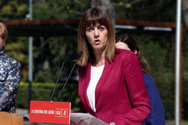 Idoia Mendia, secretaria general del PSE-EE.