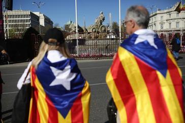 El independentismo protesta contra el juicio del 'procés'