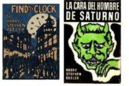 Algunas de las cubiertas de sus novelas