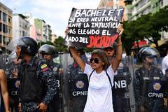 El chavismo 'maquilla' el país para la ONU
