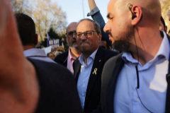 El 'president' de la Generalitat, Quim Torra, en Madrid