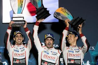 """Las cifras y la euforia de Alonso en Sebring: """"Me encanta ganar en circuitos con historia"""""""