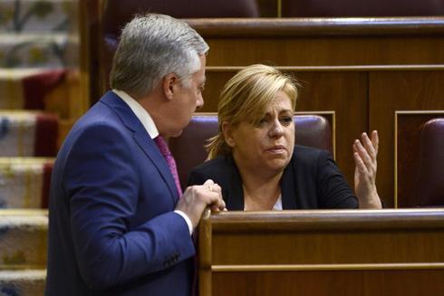 Los ex eurodiputados José Blanco y Elena Valenciano
