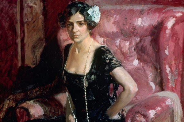 Retrato de Clotilde de Joaquín Sorolla.