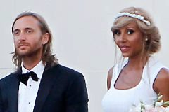 En 2012, los Guetta celebraron el 20 aniversario de su primera boda con una renovación de votos en Ibiza.