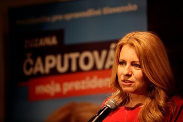 La abogada Caputova se disputará la presidencia con el comisario europeo Sefvovic
