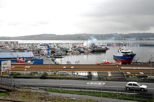 Imagen de archivo del puerto de La Coruña en 2008