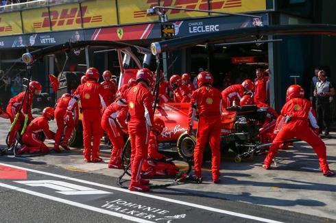 Sebastian Vettel, durante el GP de Australia.