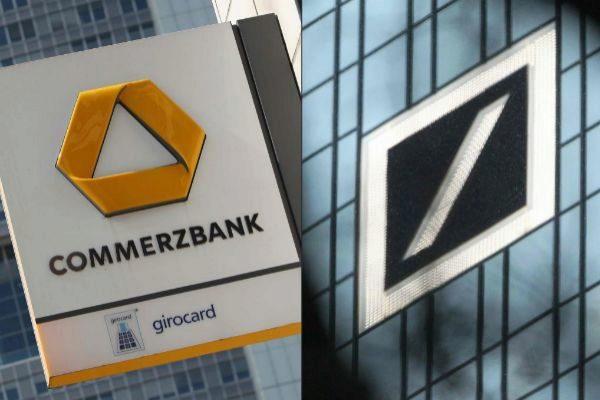 Deutsche y Commerzbank, los dos mayores bancos de Alemania, estudian su fusión