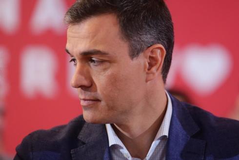 Pedro Sánchez, durante el Comité Federal del PSOE