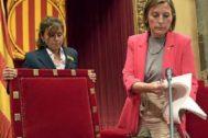 Forcadell preside el Pleno en el que se aprobó la Ley del Referéndum.