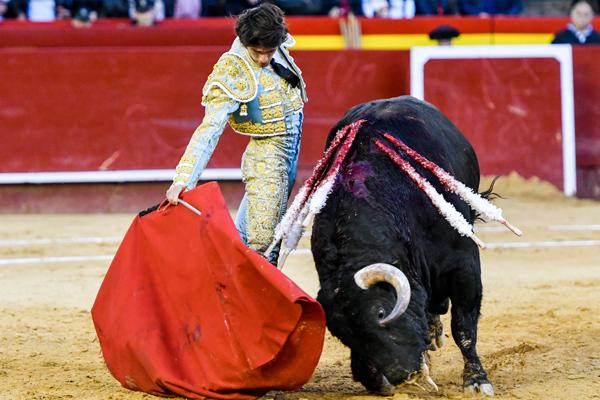 El quinto toro de Jandilla fue excepcional de principio a fin de la faena.