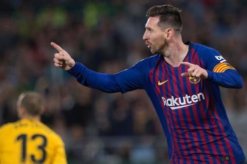 Messi y su Liga de 'diez'