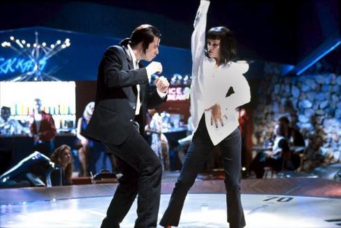 Fotograma de la película Pulp Fiction.