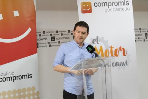 Ignasi Garcia, concejal de Compromís, ha liderado la iniciativa del topónimo.