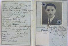 Documentación de Pino Lella a los 17 años.