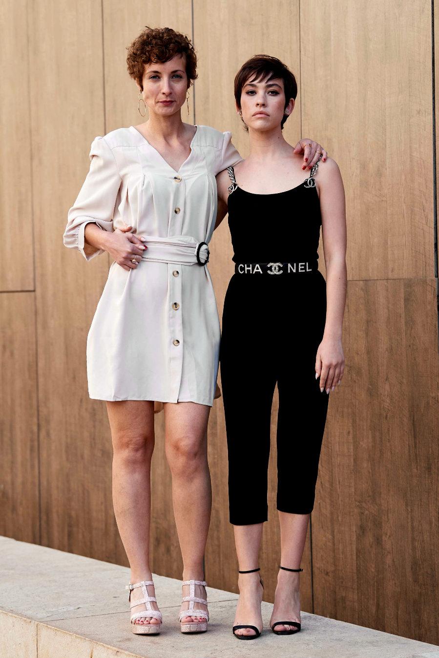 Irene Anula y Greta Fernández  en el Festival de Cine de Malaga
