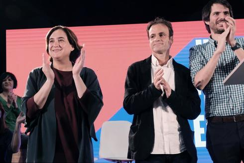 Ada Colau y Jaume Asens, cabeza de lista de En Comú Podem a las generales.