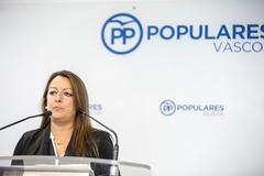 La secretaria general del PP alavés, Ana Salazar.