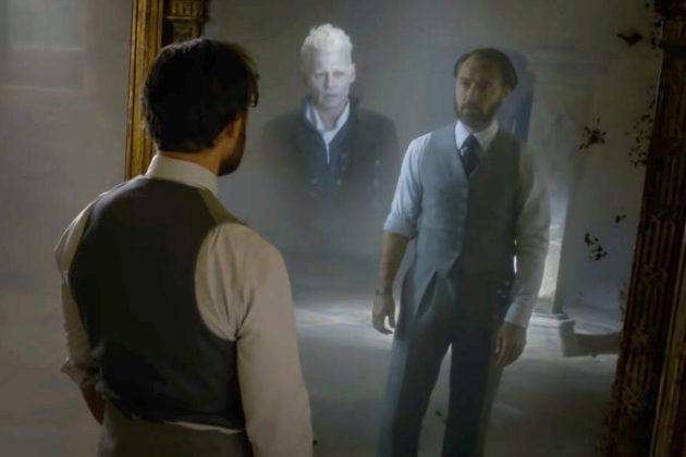 Jude Law y Johnny Depp interpretan a Dumbledore y Grindelwald en...