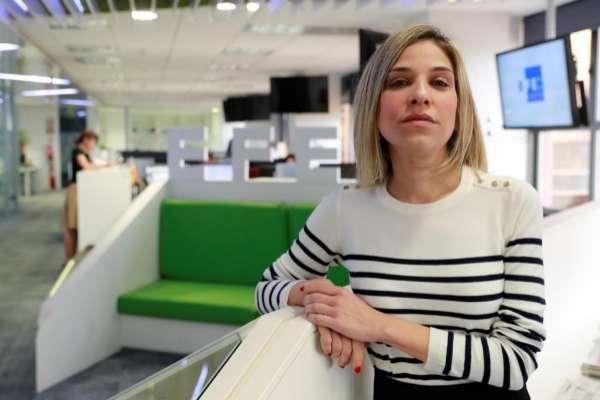 La periodista y escritora Karina Sáinz Borgo.