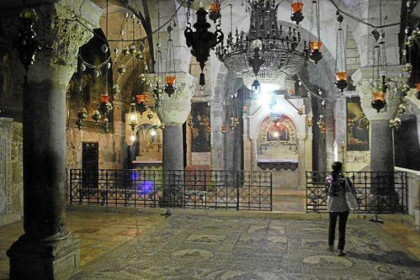Iglesia del Santo Sepulcro, en Jerusalén.
