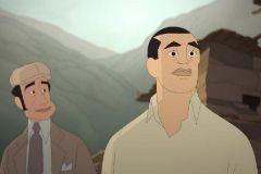 Ramón Acín y Luis Buñuel en una imagen de la película 'Buñuel y el laberinto de las tortugas'.