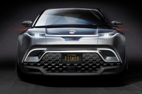 El frontal del Fisker SUV, la única cara que se conoce por ahora