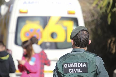 Dispositivo de Emergencias y Guardia Civil.