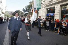 El orgullo valencianista toma Valencia por el Centenario