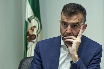 El líder de IU-CA, Antonio Maíllo.
