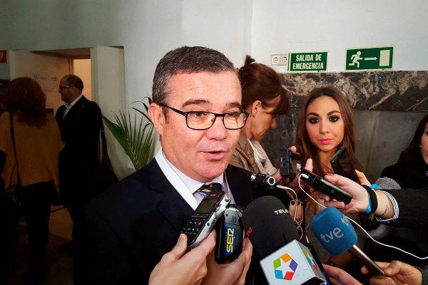 El alcalde de Arganda, Guillermo Hita.