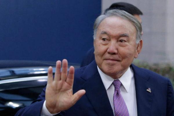 El ya ex presidente de Kazajistan, Nursultan Nazarbayev, en una imagen de 2018.