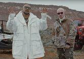 Sean Paul y J Balvin en el videoclip de Contra La Pared