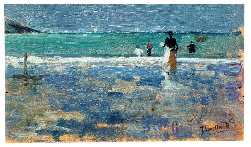 A lo largo de su vida, Sorolla pintó unos 2.000 óleos en pequeñas...