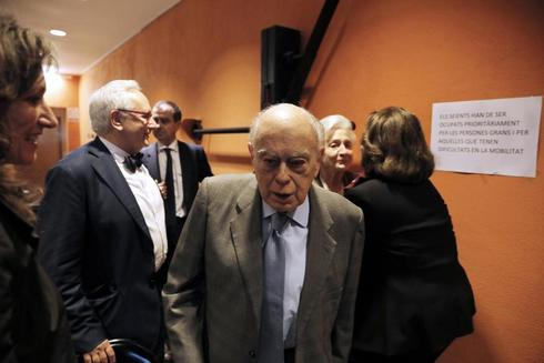 Jordi Pujol, durante un acto de homenaje el pasado mayo