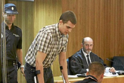 Uno de los presos acercados, Oier Urrutia, en el año 2010