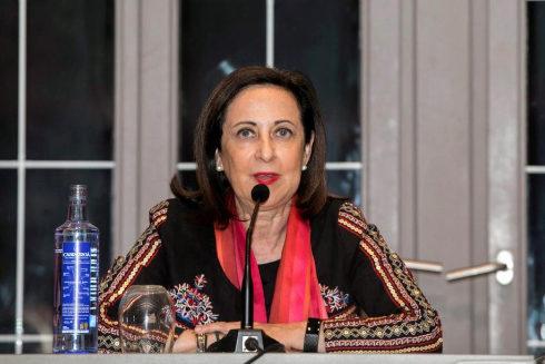 Margarita Robles, en un acto en Avilés (Asturias)