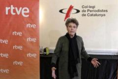 Rosa María Mateo, en un acto reciente en Barcelona.