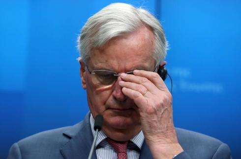 EU chief <HIT>Brexit</HIT> negotiator Barnier holds a news conference after a General Affairs Council on Article 50 in Brussels