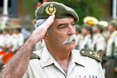 El teniente general Pedro Pitarch