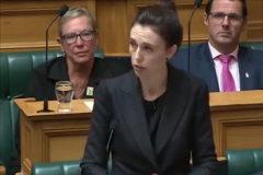 Brillante discurso de la primera ministra tras el tiroteo
