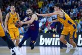 Los triples acercan al Barcelona a los cuartos de final