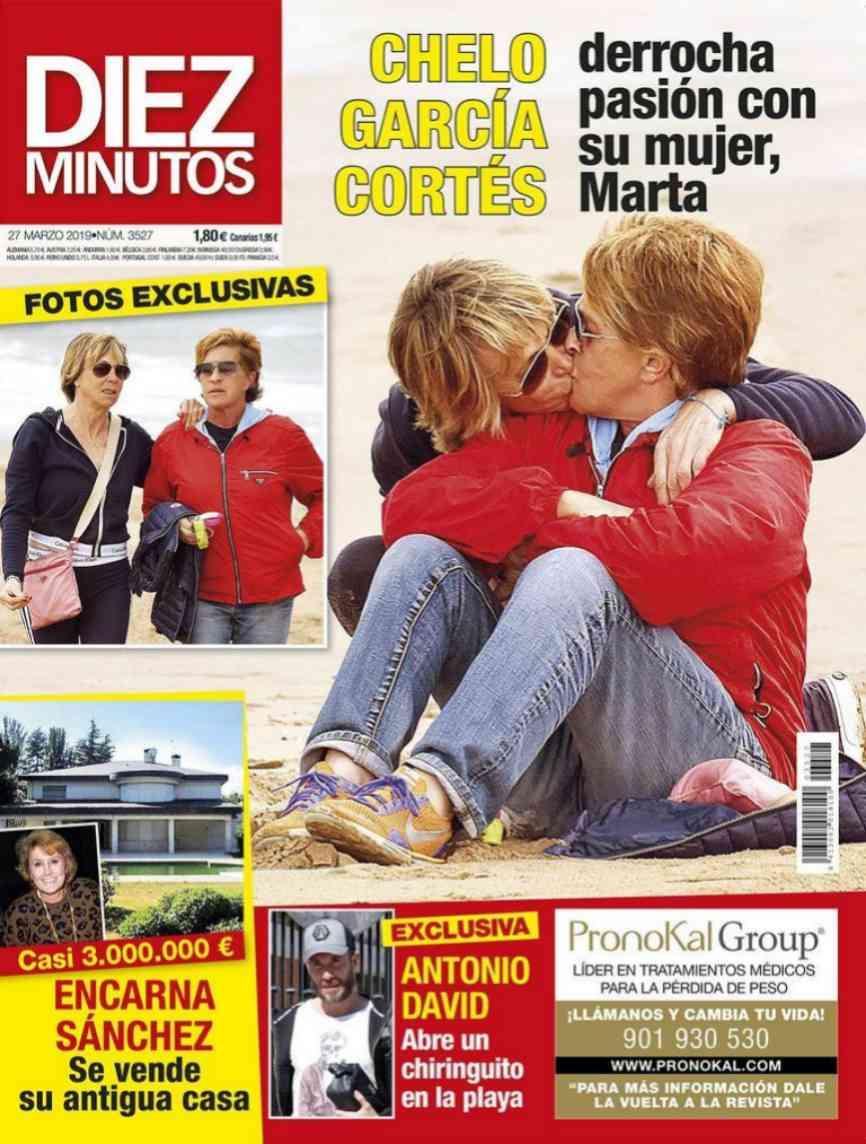 El amor de Chelo García Cortés y su mujer