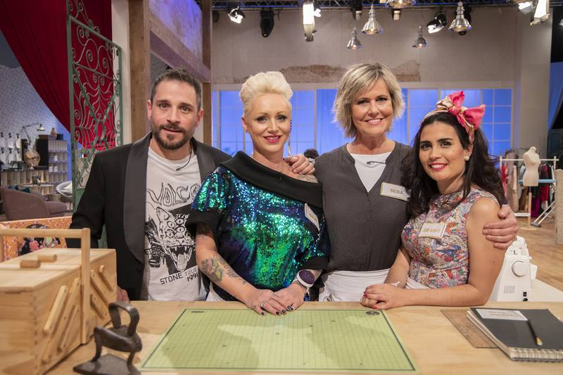 Toni, Isabel, Rosa y Amparito, finalistas de Maestros de la Costura en su segunda edición en La 1